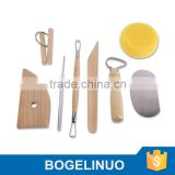 8 Piece Pottery and Sculpting Art Tool Set