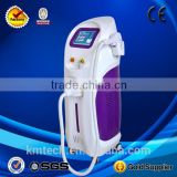 Professional Germany laser six and tanned skin type vertical diode laser hair removal machine KM600D
