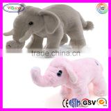 D766 Standing Elephant Animal Stuffed Soft Plush Toys That Move