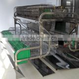 automatic feeding 304 stainless steel rabbit cage