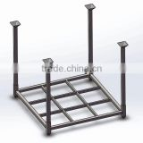 collapsible heavy duty steel pallet for material handling