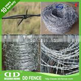 galvanized&pvc coated barded wire mesh rubber coated wire mesh piano wire