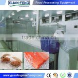iqf freezing tunnel quick freezer for shrimp