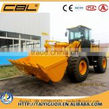 ZL40 4000kg China mini tractors with front end loader for sale