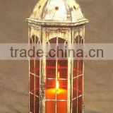 Vintage Home decoration metal Moroccon table candle lantern, Indian floor standing lantern