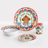set of 16pcs&20pcs porcelain dinnerware with Christmas printing Christmas printing dinnerware set Porcelain dinner set