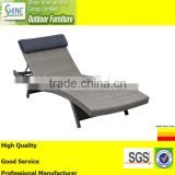 Outdoor Furniture Wicker Sun Loungers New Arrival Rattan Chaise Lounger,Daybed, Canopy Bed For Garden Furniture,Hotel Project