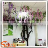 China factory of artificial flower tree artificial wisteria tree