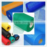 Blue fiberglass mat cloth
