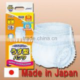 Reliable and Durable pants diaper woman adult incontinence diaper with Functional made in Japan