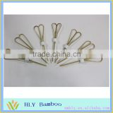 Wholesale bamboo craft stick high quality bamboo skewers bulk for BBQ