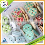 Over 300 patterns fashion high quality garment button/ wooden button hotsale