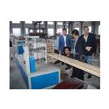 Twin Screw WPC Profile Extrusion Line / Equipment For Wood Plastic Composite Profiles , SJSZ-65