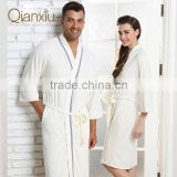 New arrival Qianxiu the best selling bamboo bath robe for wholesale