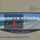Car Video Rearview Mirror with 3.5 TFT Monitor(Parking Sensor System Optional)(RD728)