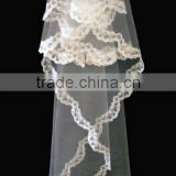 Latest style unique design beautiful lace wedding veils