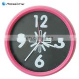 With Step Movement Wall Clock Plastic