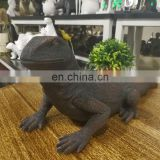 Polyresin Lizard Ornament Facotory Produce Decorative Garden