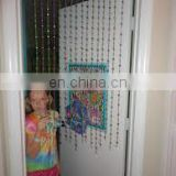 Mirror and Bead Curtains