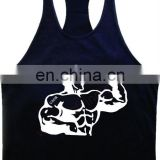 Gym singlet T-back Fitness Wears with your logo