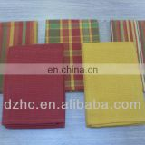 cotton striped & checked kitchen towels,5 sets