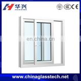 CE&CCC Modern Design office&home Aluminum&PVC Frame Slide Up Windows