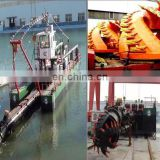 River Channel Dredging Cutter Suction Dredge