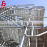 constracture used different types h frame scaffolding