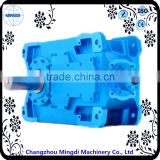H/B Series Helical-bevel Gear box Transmission Parts With Engine Motors for industrial sewing machine