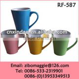 Hot Sale Glazed Zibo Made Porcelain Party Coffee Drinking Cup with Wholesale Price