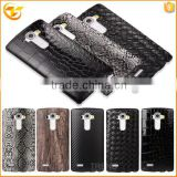 china supplier phone hard back sticker cover case for LG g4