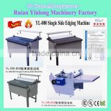 Single Folding Side Machine YL-DB-800 which the main production in folders, photo album book cover