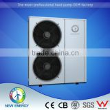 Villa Apartment Household Hot Water Heating Cooling System Air to Water EVI Heat Pump for Europe