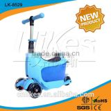 kids scooter big wheels suitcase