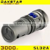 DAKSTAR SL32A XML U2 3000LM 18650 Aluminum CREE Rechargeable High Power Search Superbright Strong Light Torch