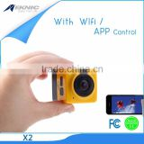 Wholesale 360 Degree Wide Angle Sport DV Action Camera 190 Degree Waterproof Camera Fisheye Super Wide Angle