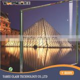 3-19mm tempered exterior building glass walls