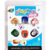 The new ring crayons, improve the child's ability to cultivate children's interest.