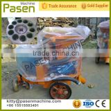 Shotcrete spray machine for sale / Concrete spray pump / Small portable wet shotcrete machine