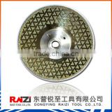 7 Inch Superior Cutting Performance Electroplated Diamond Cutting Disc For Cutting Stone