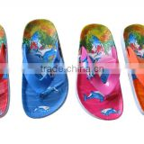 Women&girls fashion nude beach Flip Flops Slippers