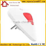 Fashion High Tech Siren Wireless Home Indoor Siren with Red Flash Strobe Light and support Signal Repeater Function