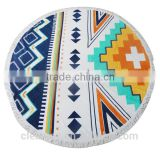 beach towel china wholesale cotton beach round towel                                                                         Quality Choice