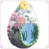 Easter adorable egg design ceramic Cookie Jar
