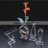 flower planter acrylic clear color with different shapes                                                                         Quality Choice