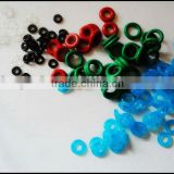 colored rubber band o-rings
