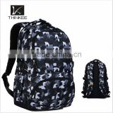 Bright color sport backpack/printing durable backpack for sports/waterproof fashion sport bag