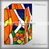 GV13061904 china wholesale tiffany style stained glass vase craft for home decoration