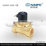 Low pressure normal close solenoid valve brass air 3/8 inch valve