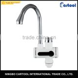 Tankless Electric Hot Water Heater Faucet Kitchen Heating Tap Water Faucet with Digital Display